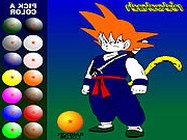 Dragon Ball Z painting online Dragon Ball játék